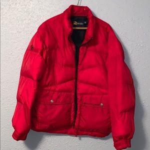 red mens jacket